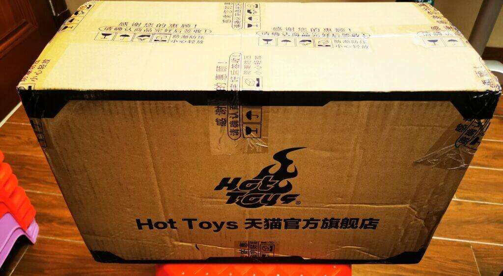开箱丨Hot Toys 复联1钢铁侠Mark 7 普通版1:6合金珍藏人偶插图