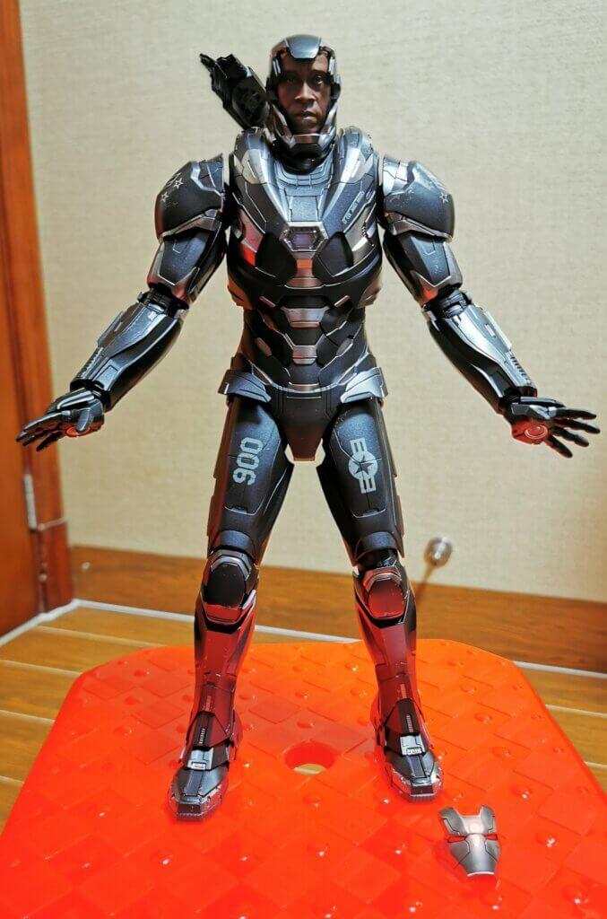 开箱丨Hot Toys 复联4战争机器1:6合金人偶