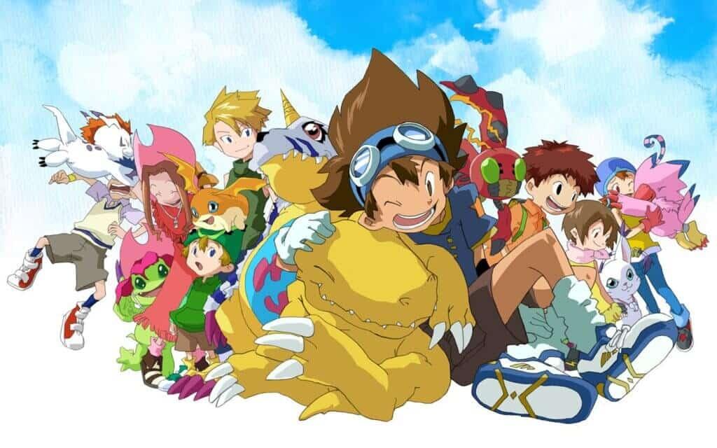 《数码宝贝大冒险:最后的进化·羁绊》再见-童年插图