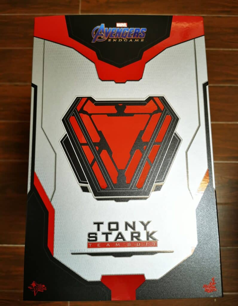 开箱丨Hot Toys 复联4托尼·斯塔克 复仇者团队服装1:6珍藏人偶
